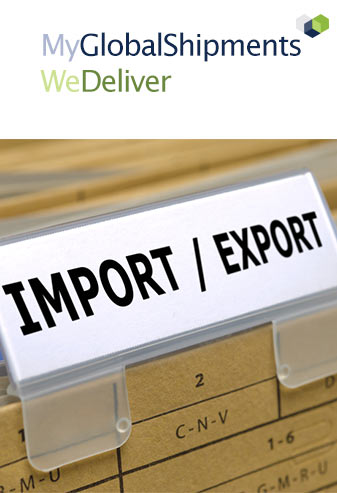 Internationale zendingen, Import & Export